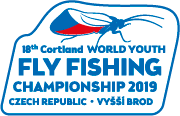 18th Cortland World Youth Fly Fishing Championship, Czech republic, 10. – 17. 8. 2019
