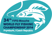 34. FIPS-Mouche World Fly Fishing Championship, Frymburk, 27. 5. – 2. 6. 2014
